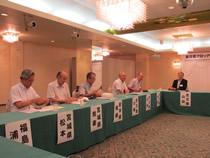 管内関係者による事務局会議
