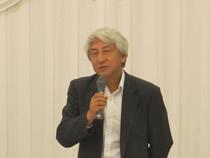 工業会の長谷川敦参事から飼料情勢について話題提供