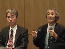 左:工業会技術委員会委員 多田眞一氏 右:日本獣医生命科学大学教授 木村信熙氏