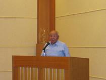 南雲会長が主催者代表挨拶