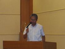 講演中の高山講師