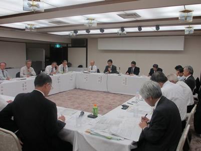 東京電力との意見交換は予定時間を大幅にオーバーして続いた
