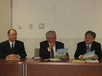 全日畜の西原代表理事は台湾飼料工業会の一行と交流生産者団体「全日畜」をPR