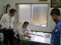 3.申請者は貸付が決定された後はリース会社との契約締結