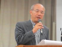 青野正宣新代表理事が挨拶