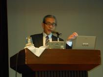 メイン講演はJA浜中町の石橋榮紀組合長の「経営は挑戦なり!」