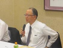 全日畜(中央会)からの経過報告は山田事務局長から
