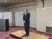 青野会長の開会挨拶/平成25年12月6日 宮城県仙台市 ホテル白萩