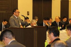 第一部で事例発表を行う北海道から参加の株式会社トップファーム代表井上登氏(肉用牛)