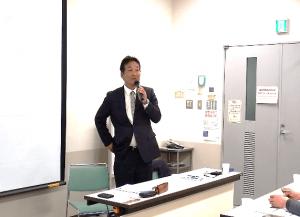 (有)ヤマゴ畜産 社長 河合充氏/現場に根差した迫力ある経営を発表