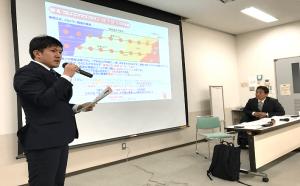 イワタニ・ケンボロー(株)安井祐太氏/均一でコントロール可能な環境が大切と説明