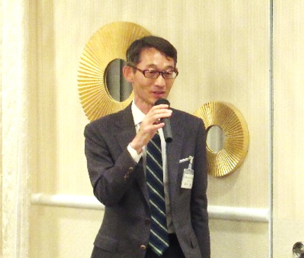 新理事に選任された工業会の安井参事
